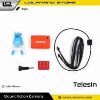 Telesin Bite Mouth Mount Diving Surfing Board Set for GoPro - GP-MTM-002 - Black