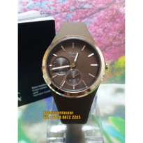 Jam Tangan Wanita Alexandre Christie 2663 Rose Gold Brown Original