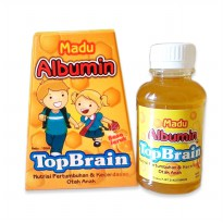 MADU ALBUMIN TOP BRAIN RASA JERUK