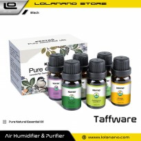 Taffware HUMI Pure Essential Fragrance Oils Aromatherapy Diffusers 10ml 6 PCS - K-E7