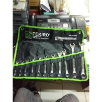 Kunci Ring Pas Set Tekiro 11pcs 8-24 pcs
