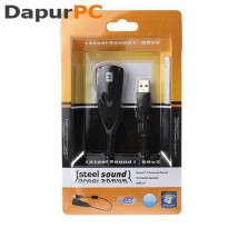 Audio Sound Card Adapter 5HV2 USB to Virtual 7.1 Channel
