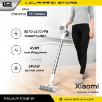 Xiaomi Mijia Dreame Penyedot Debu Handheld Wireless Vacuum Cleaner - V10 - White