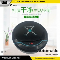 Automatic Household Vacuum Cleaner Universal Drive Lazy Robot - 2929 - Black