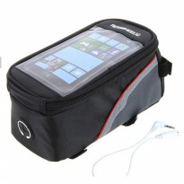 Bike Waterproof Bag 5.5 inch Smartphone Tas Frame Sepeda Hp Anti Air
