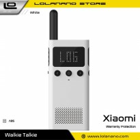 Xiaomi Mijia 1S Smart Walkie With FM Radio Speaker Standby Smartphone APP Location - MJDJJ03FY - Whi