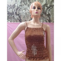 Tanktop Coklat Stretch (BS TT 38)