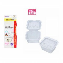 Richell Baby Cubes Animal Food Container 100ml (Isi 8pcs)