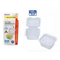 Richell Baby Cubes Animal Food Container 150ml (Isi 6 Pcs)