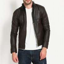 Leather Jaket Style Bikers SK31