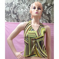 Tanktop V Neck Abstrak (BS TT 58)