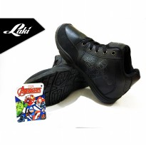 LAKI SHOES NEW 2017 BACK TO SCHOOL AVENGERS BLACK-IRON MAN AVS401