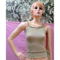 Tanktop Beige Stretch (BS TT 73)