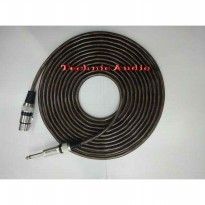 Kabel MicMicrophone Cable Canare  Xlr Female  To Akai 10 Meter Termurah07