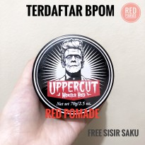 POMADE UPPERCUT MONSTER HOLD [ OILBASED] + FREE SISIR