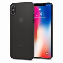 SPIGEN IPHONE X SOFT CASE THIN AIRSKIN BLACK