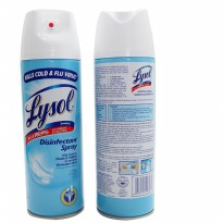 LYSOL DETTOL DISINFECTANT SPRAY 340GRAM KILLS COLD FLU VIRUS 408071