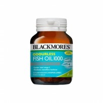 Blackmores Odourless Fish Oil 1000mg BPOM Kalbe - 30 kapsul