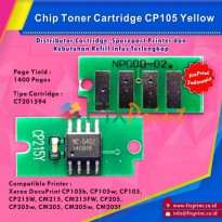 Chip Xerox CP105 CP205 CM205 CM215 CP215 Yellow
