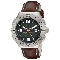 [macyskorea] Momentum Mens 1M-SP24B3C Format 4 Brown Wasser Leather Watch/17932539