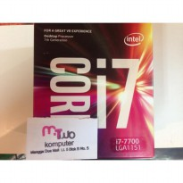 Intel Core i7-7700 3.6Ghz - Cache 8MB [Box] Socket LGA 1151 - Kabylake