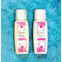 (Star Product) BeenPink Lotion Day and Night - Paket Lotion Been Pink
