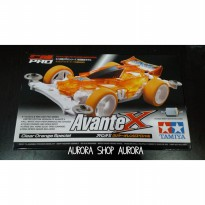 TAMIYA - AVANTE X CLEAR ORANGE SPECIAL MADE IN JAPAN