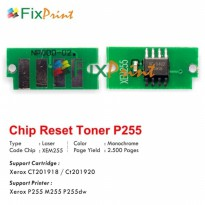 Chip Xerox P255 M255 P255dw, Chip Reset Toner Cartridge Xerox