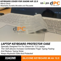 Xiaomi Air 12.5 Silicone Laptop Keyboard Protector Skin Cover