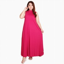 Long Dress lekbong BIGSIZE tanpa lengan Wanita model terbaru - Jfashion New ping ping