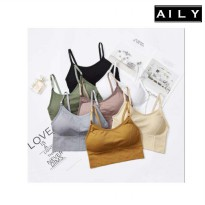 Aily AL09 Woman Crop Top Bra Lower Back