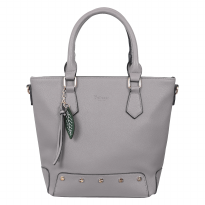 Bellezza Handbag MS85692 Grey