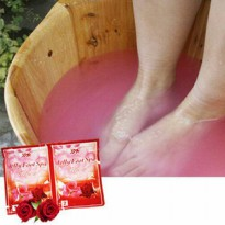 JELLY FOOT SPA VARIAN ROSE