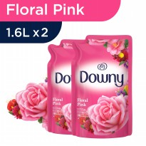 Downy Floral Pink 1.6L - Paket isi 2