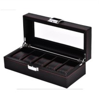 TAIYU Kotak Jam Tangan - 5 Slots Watch Box Case