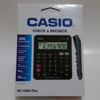 Kalkulator Casio MJ-100D Plus Calculator Check & Recheck