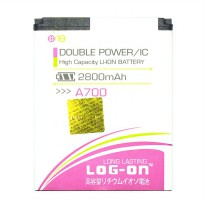LOG-ON Battery For MITO A700 2800mAh Double Power & IC - Garansi 6 Bulan