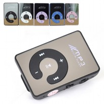 C-Logo MP3 Player TF Card dengan Klip - Black