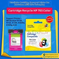 Cartridge Recycle HP 703 Color