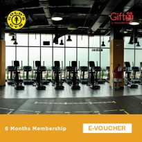 Gold's Gym - 6 Months Membership