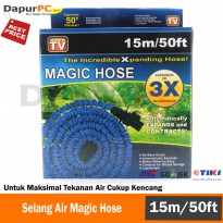 Magic Hose/ Semprotan Selang Elastis - 15 Meter