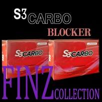 S3CARBO / S3 CARBO BLOCKER ORIGINAL (isi 15 sachet) BPOM RI MD 867028012341