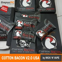 Kapas Vape COTTON BACON V2.0 USA Authentic