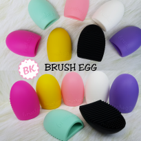SATUAN BRUSH EGG / EGG BRUSH PAD - ALAT PENCUCI KUAS MAKE UP
