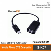 Kabel USB OTG Multifunction Untuk Smartphone Android - Cable Kit