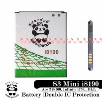 Baterai Rakkipanda For Samsung S3 Mini I8190 Ace 2 i8160 Infinite i759 Double Ic Protection
