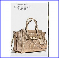 COACH SWAGGER ROSEGOLD