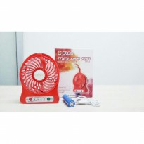 Portable Mini USB Fan SATOO SMF-S11 With LED Light Touch