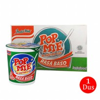 Pop Mie Mini Rasa Baso - 35gr isi 24cups (1 Dus/Box/Karton)