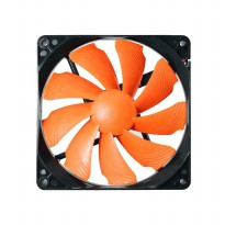 Cougar Fan 12CM TURBINE - HYPER-SPIN BEARING - ORANGE Blade - T12S